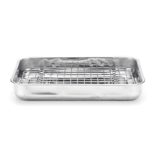10171 – teglia da forno con griglia 40×28 1